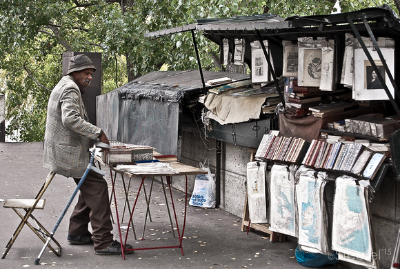 Books along Seine